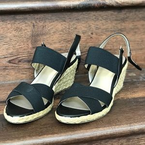 Bandolino Hearsay Espardille Wedges Sandals